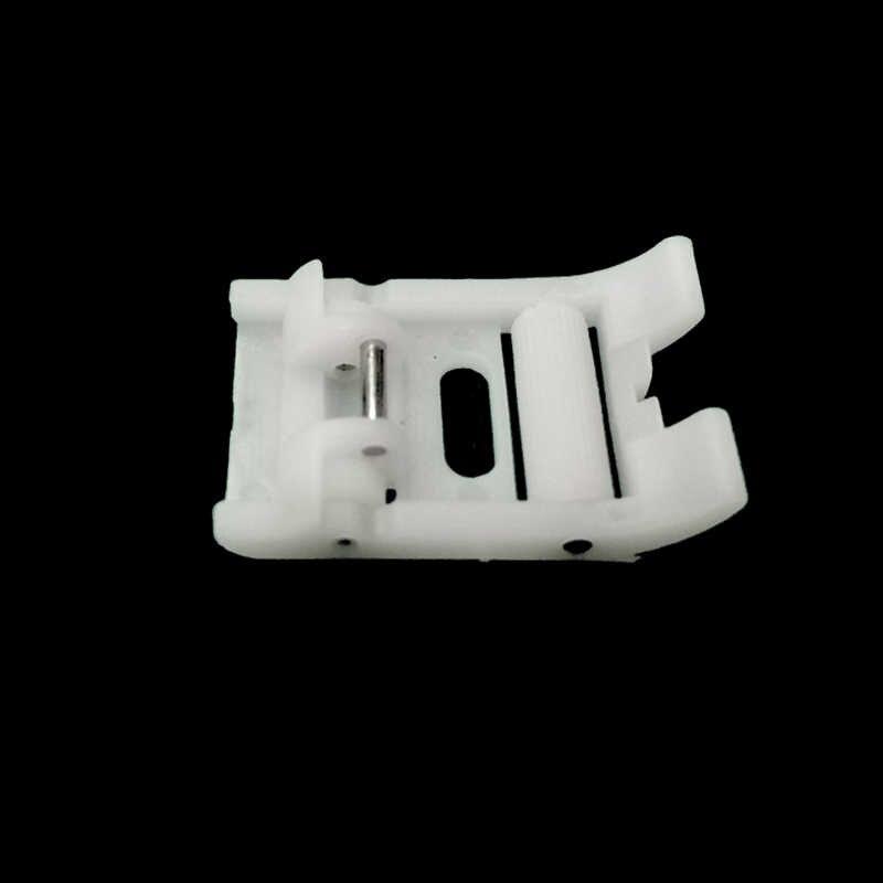 1Pcs Teflon Rullo In Pelle antiscivolo Per Cucire Piedino per la Casa Multifunzione Macchina Da Cucire Nuovo Selezionare Macchina Da Cucire parti
