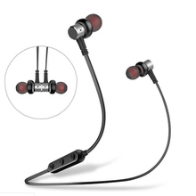 AWEI B923BL Magnetic design Bluetooth Earphones Sports Wireless Earphone Active noise reduction With microphone