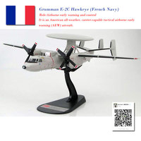 HOBBY MASTER 1/72 Scale Grumman E 2C Hawkeye Tactical Airborne Early Warning (AEW) Aircraft Diecast Metal Plane Model Toy