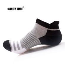 NANCY TINO Erkekler / Kadınlar Meslekİ Açık Spor Çorap Kamp Yürüyüş Koşu Bisiklet Çorap Nefes Kısa Pamuklu Çorap