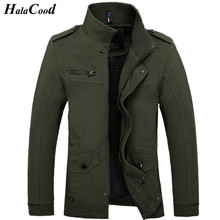 Hot Sale Spring Autumn New Fashion Brand Men Jacket Coats Thin Overcoat Cotton Jackets Mens Outerwear Parka Plus Size Man Coats