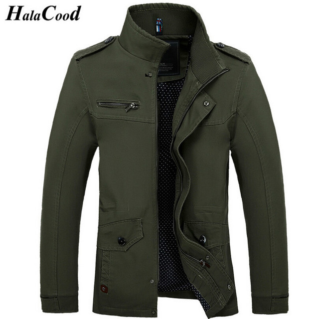 Hot Sale Spring Autumn New Fashion Brand Men Jacket Coats Thin ...