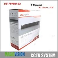 Original Oversea DS 7608NI E2 NVR For IP Camera CCTV System ONVIF Original Color Box 2