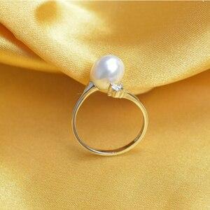 Image 5 - ZHBORUINI ensemble de bijoux en perles, deau douce naturelle, nœuds, en argent Sterling 925, collier en perles, boucles doreilles, Bracelet pour femmes, idée cadeau
