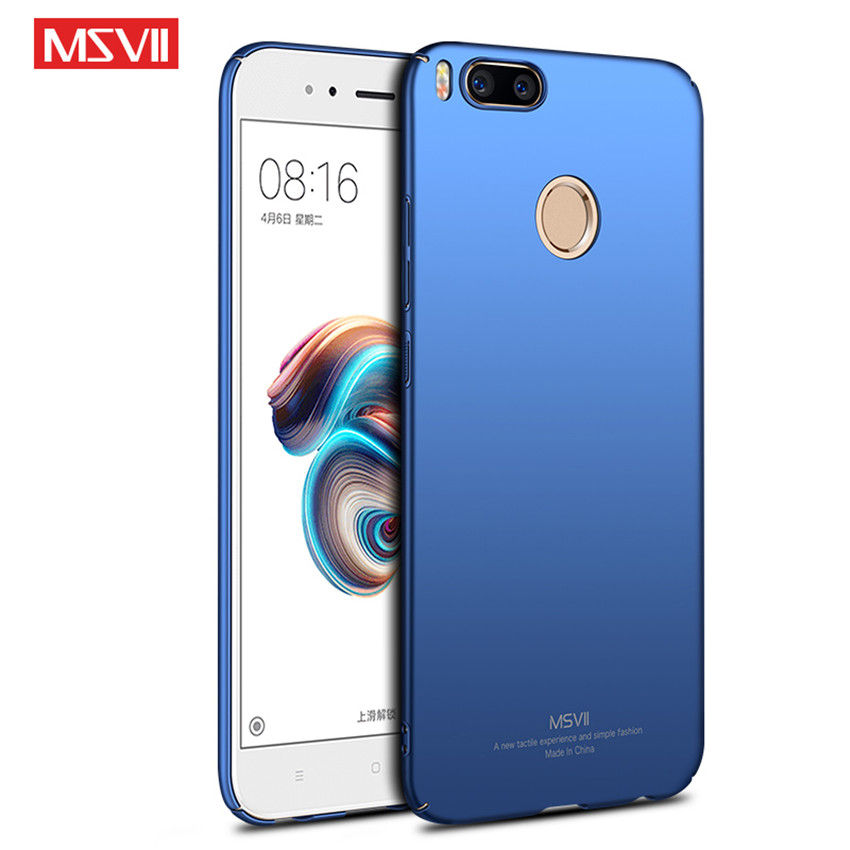 Msvii Phone Case Pc Shockproof Bumper Cover Funda On For