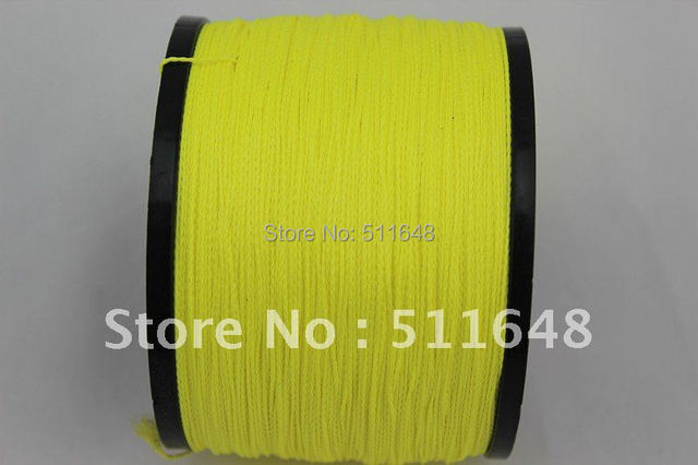 Free Shipping 1000m 130lb PE Braid Fishing Line Extreme strong 0.6mm 6 weave