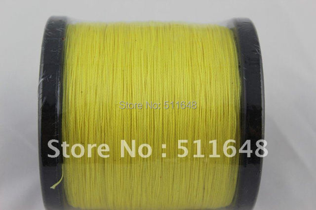 Free Shipping 1000M PE Braid Fishing Line 45lb/50lb/60lb/70lb/80lb PE Braided wire 4 strand