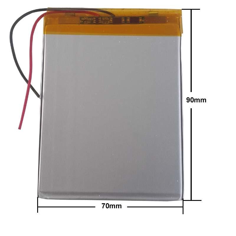 3.5*70*90mm 3.7V 5000mah Tablet Update Battery For 7