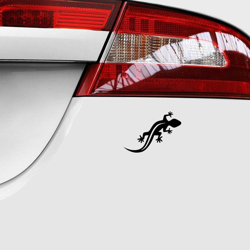 אביזרי רכב 11.1 * Gecko 7.8CM לוגו מדבקה חלון קישוט רכב סמל דוגמנות מדבקות ויניל פלסטיק באיכות גבוהה אביזרי בית (3)