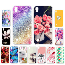 Ojeleye DIY Patterned Silicon Case For LG X Power  Soft TPU Cartoon Phone Cover 2 Covers Anti-knock Shell
