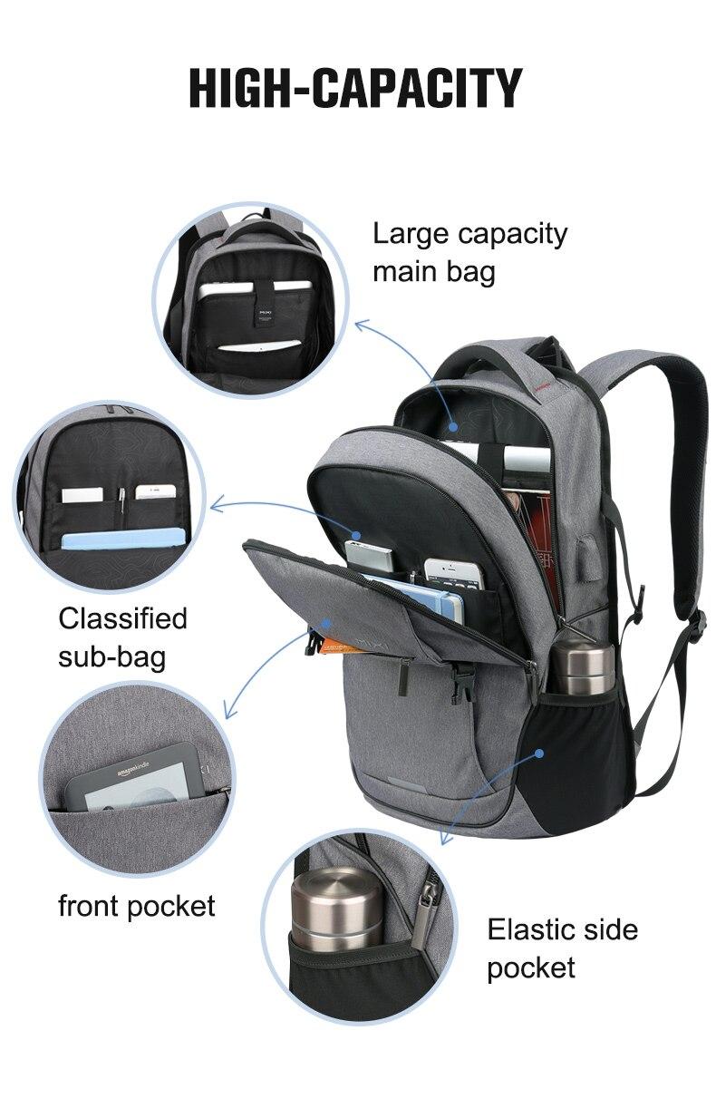 Mixi sac à dos pour ordinateur portable 6