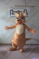 PP cotton filled body kangaroo mascot costumes hot sale kangaroo costume