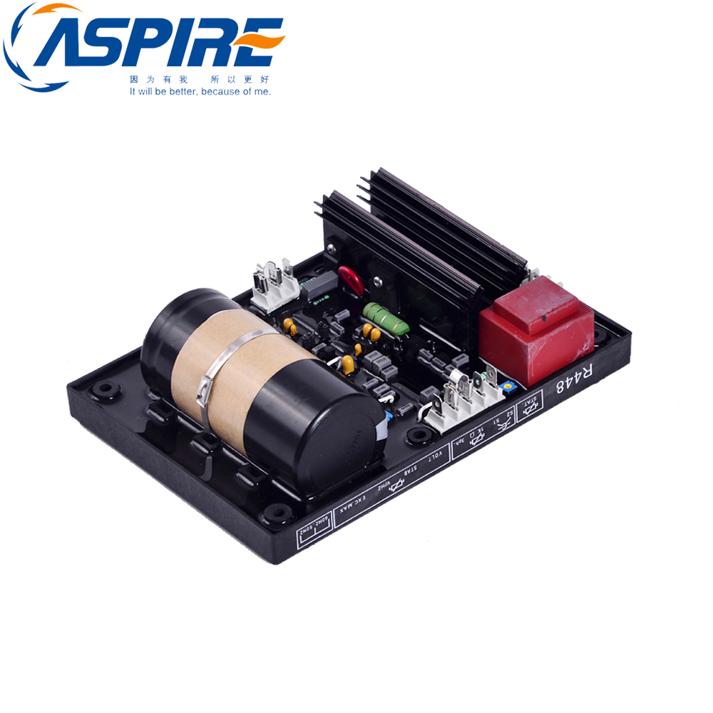 free shipping Brushless AVR R448 Stabilizer Automatic Voltage Regulator