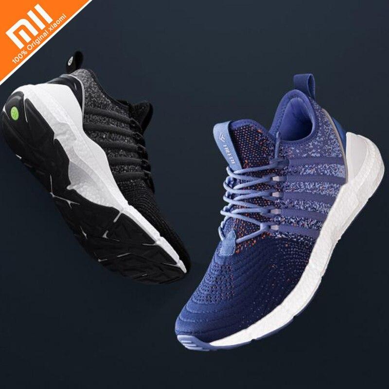 Xiaomi Ecological Chain Freetie Free tie Elastic Shock Absorbing Sports Sneaker Shoes ETPU Fishbone Locking Smart
