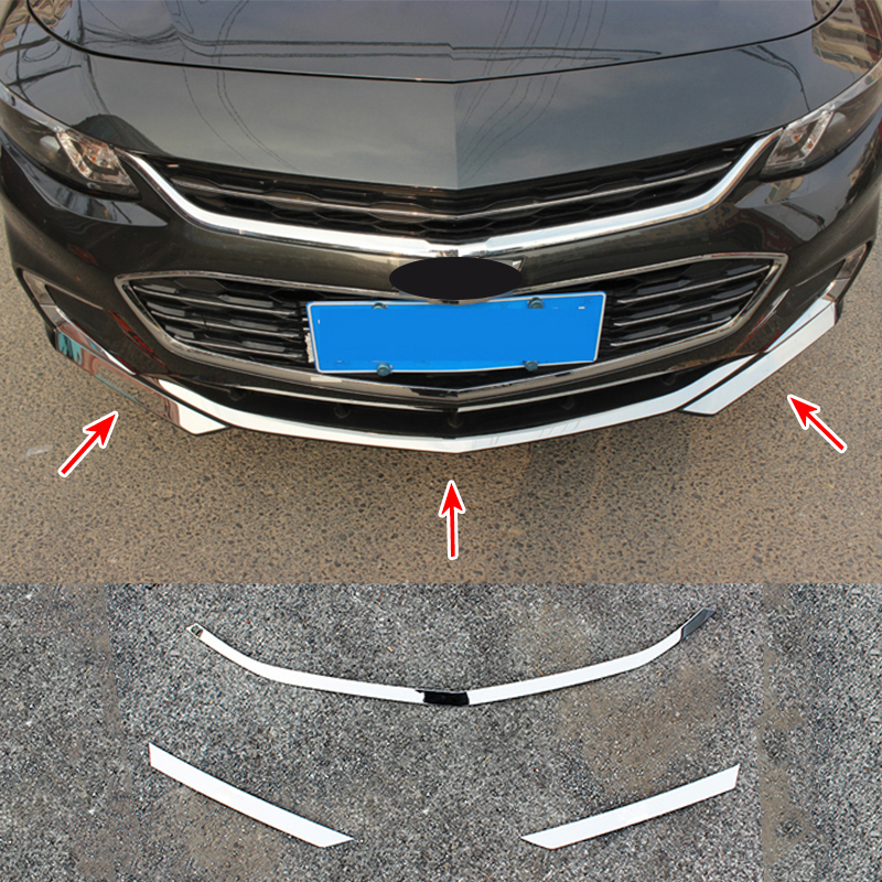 For Chevy Chevrolet Malibu 2016 2017 2018 Chrome Front