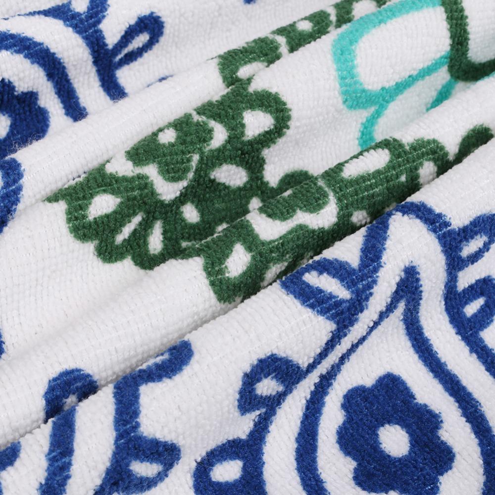 Microfiber Summer Sport Bath Towels Round Sand Beach Towel 1003103001_6