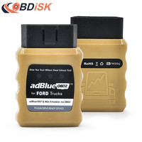 New Adblue AdblueOBD2 Emulator For Ford Trucks Scanner Diesel Heavy Duty Truck Scan Tool OBD2 Plug