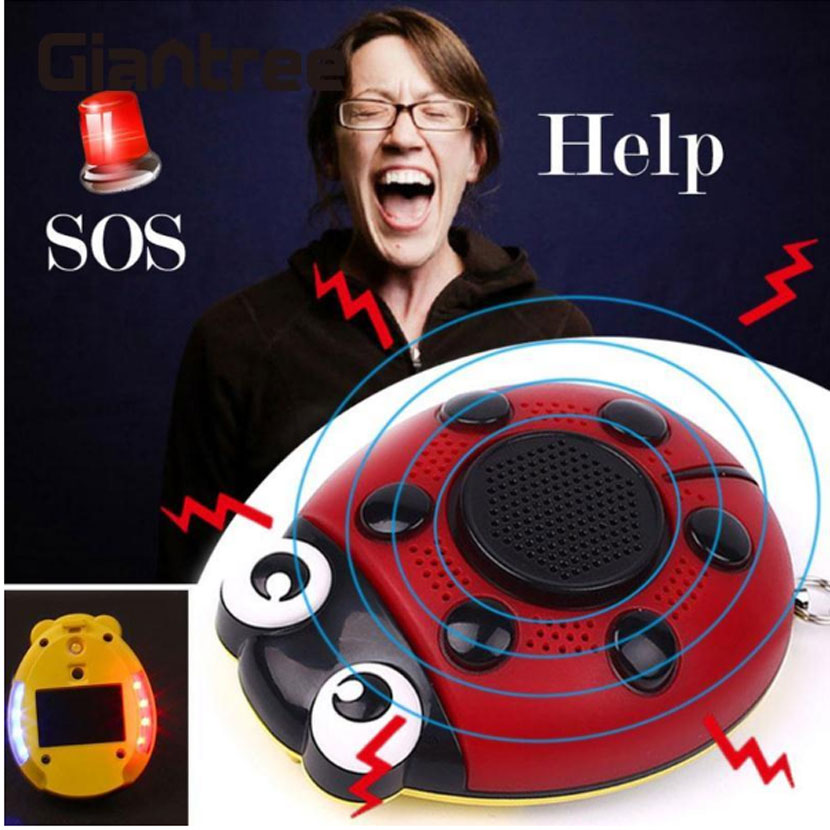 Protection Defensa Personal Women Anti Wolf Panic Smart Security Rape Alarm Mini Loud Self Defense Supplies Emergency Alarm