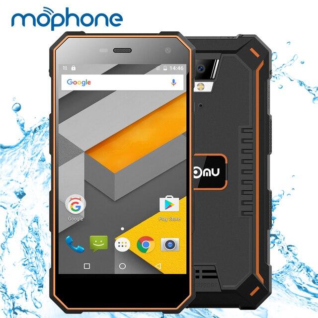 """Ному S10 IP68 Водонепроницаемый смартфон 4 г пыле противоударный Android 6.0 4 ядра MTK6737 5.0 """"IPS Экран 2 ГБ + 16 г мобильного телефона"""