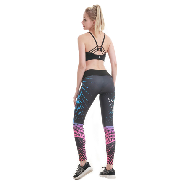 pgm 2018 Yoga Pants Women Running Trousers Tights Gym Training Legging Sport