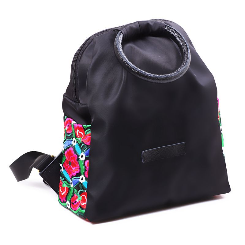 2016 New Ultra light National Wind Indian Tote Bags Female Hand Ring Nylon Embroidered Women s