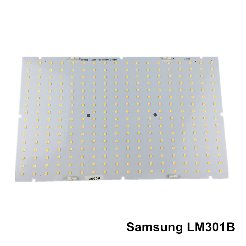 US $38 25 10% OFF|Samsung led 288pcs PCBA quantum board, QB288  (286x174x1 6mm) PCB with LM301B+660nm/LM561C S6 3000K diy led plant grow  light-in LED