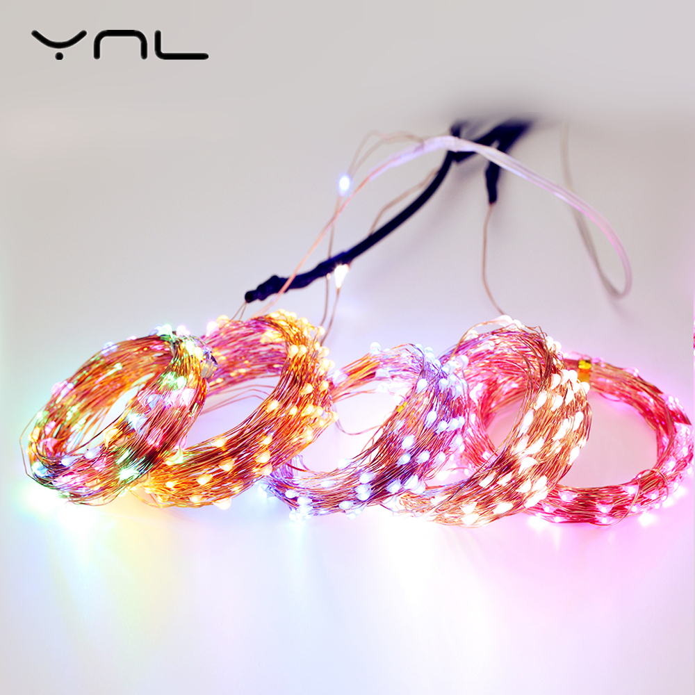 Tiras de Led luzes de natal da bateria Name : Led String Light