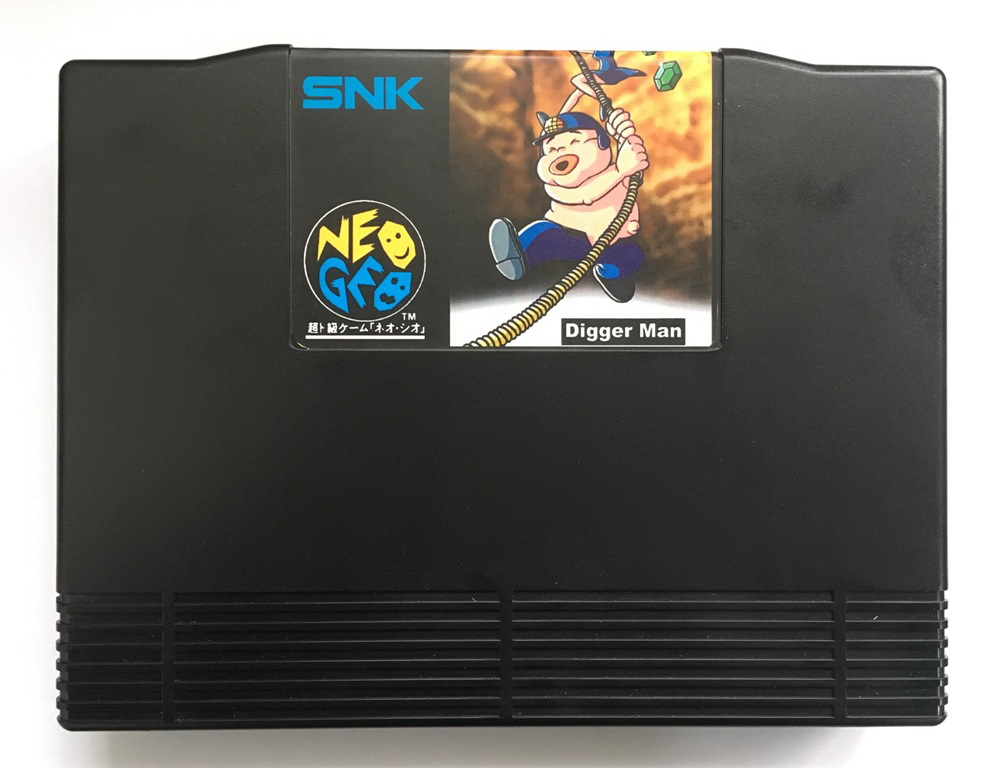 NEOGEO AES Digger Man(Unreleased) Game Cartridge for SNK NEO GEO AES Console
