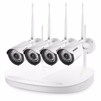 ANNKE 4CH CCTV System Wireless 960P Powerful Wireless NVR WIFI IP Camera CCTV Home Security System