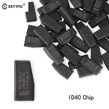 KEYYOU 1PCS For Vauxhall Opel Astra Vectra Zafira ID40 4D40 Carbon Chip T12 40 Bits Remote Car Key Transponder Chip