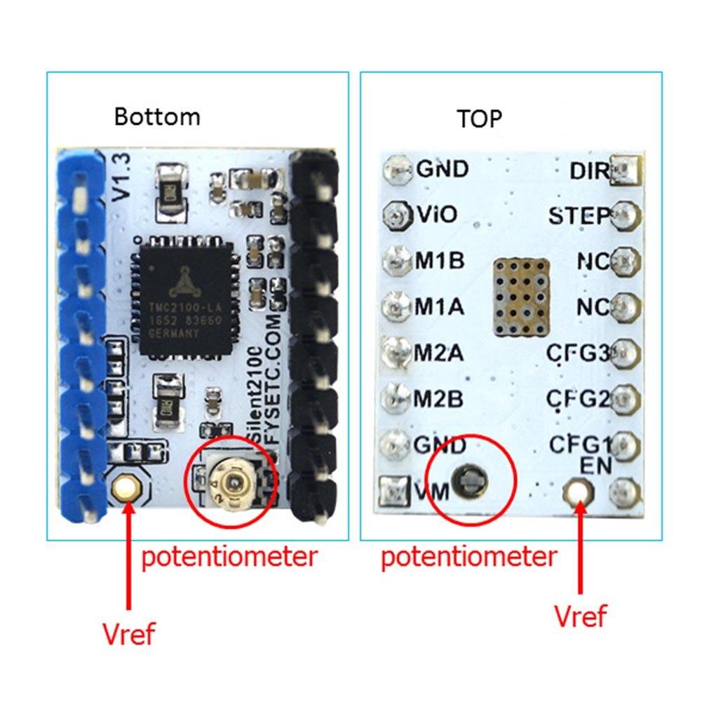 Pour MKS GEN L Compatible avec TFT32 LCD Support D'affichage TMC2208 Moteur Pilote 3D Kits D'impression QJY99