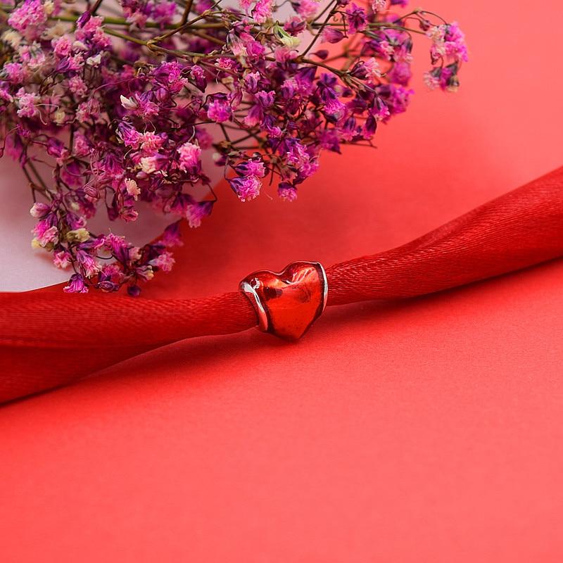 ζεστό ασημένια ευρωπαϊκά CZ χάντρες - Κοσμήματα μόδας - Φωτογραφία 5