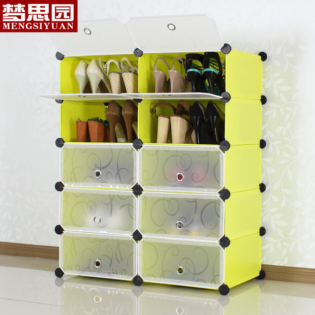 Park Five Modular Simple Shoe Rack Storage Cabinets Embled Dust Home