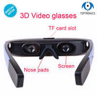 2018 Hot Seling HD 1080P Android5.1 WiFi Touch-Button Track Ball Operate Browser 3D Smart Video Glasses smart digital glasses