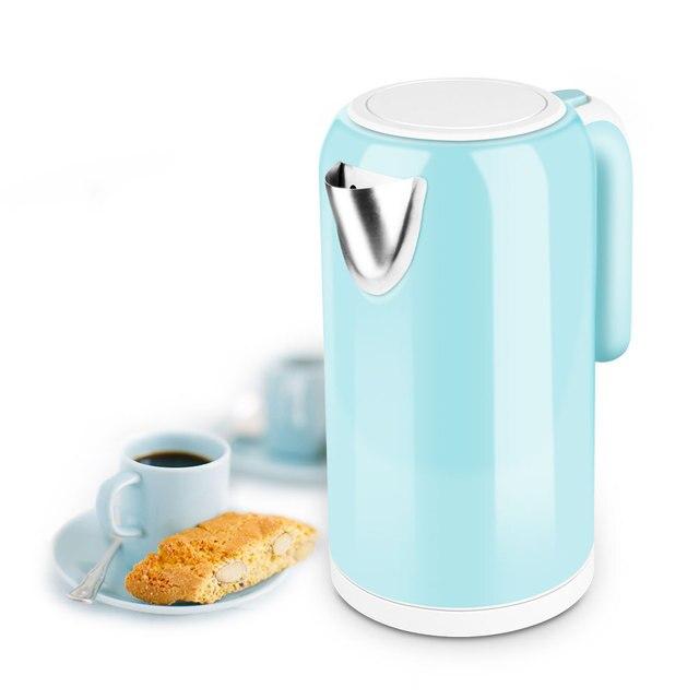 Wasserkocher 1L mini kessel 304 edelstahl automatische abschaltung ...