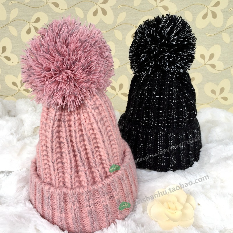8 colors Fashion winter Knit Beanie Crochet Pom Pom Hat Hip Hop Skullies & Beanies for Men Women Casual Gorras toca Bonnet gorro new fashion women autumn hat caps for girl rivet knit beanie skullies colors men casual hip hop hats adult winter bonnet shop