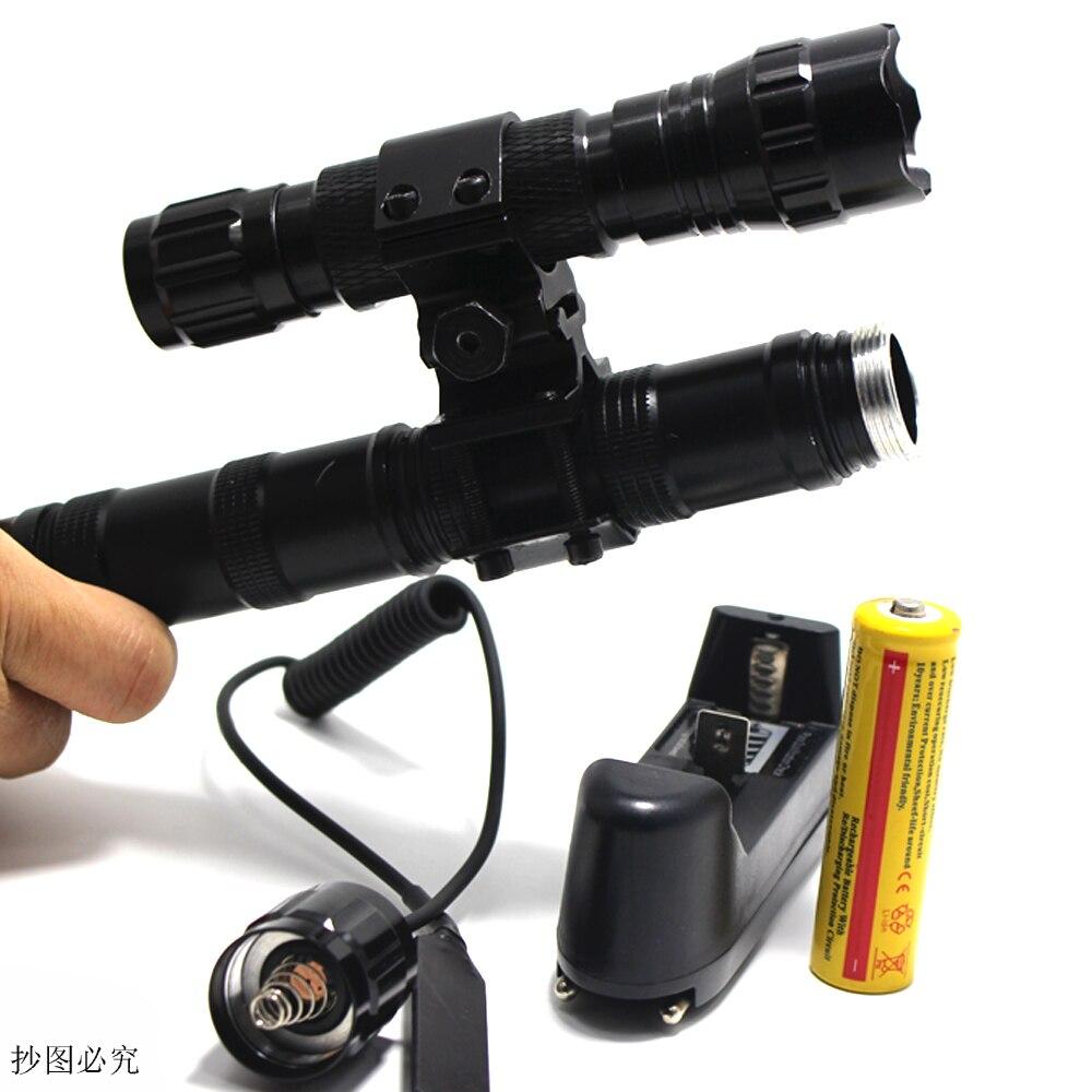 Tactical Flashlight 2000 lumens CREE XM L T6 L2 LED 501B ...