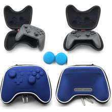 Blue Switch Pro Travel Storage Carring Case Pouch Bag Hard Pack for Nintendo Nintend Controller NS Shockproof+caps