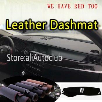 For BMW 5 Series F10 wagon Touring F11 520i 528i 523i 530i Leather Dashmat Dashboard Cover Dash Mat Carpet Custom Car Styling