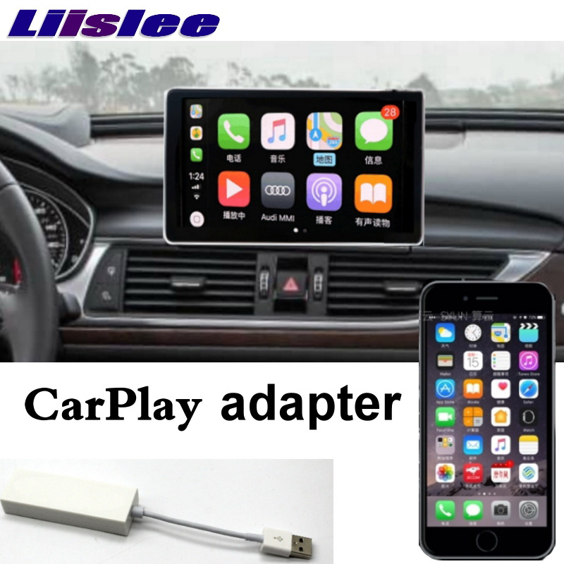 Liislee Car Multimedia Player NAVI For Audi A6 A6L S6 RS6 C7 4G 2012~2018 Original Car System Radio Stereo GPS Screen Navigation 15
