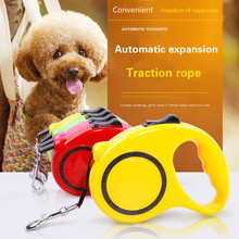 Manufacturers automatic telescopic traction rope portable dog chain retractor 3 m 5 belt