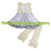 Hot Sale Summer Baby Girl Outfits Boutique Children Clothes Wholesale Girl Outfits