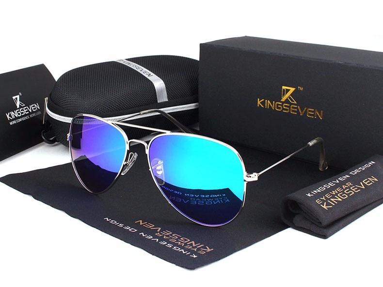 58mm Retro Sunglasses Women Kingseven Luxury Brand Female Sun glasses For Women 16 Fashion Oculos Designer Shades Unisex 3025 10