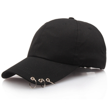 51cc4e2dd41 Men Women Baseball Cap Hat Ring Hat Gorras Planas Snapback Adjustable Caps  For Women Unisex