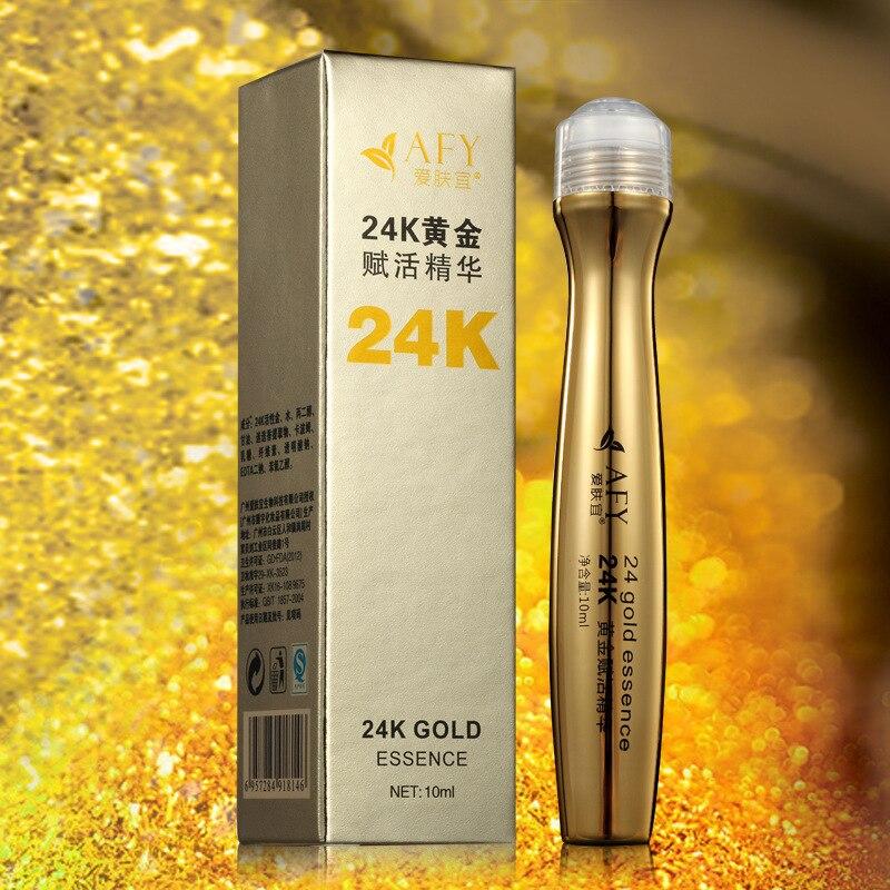 24 K Ouro Essência Creme Para Os Olhos Anti Inchaço Escuro Círculo Anti Envelhecimento Rugas Hidratante Clareamento Da Pele Endurecimento