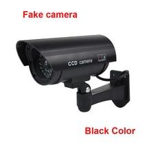 Fake CCTV Camera Dummy Fake Video Camera Outdoor Indoor Deter Theft Cameras CCTV Camera Toy CAM With Flash LED Light For Home