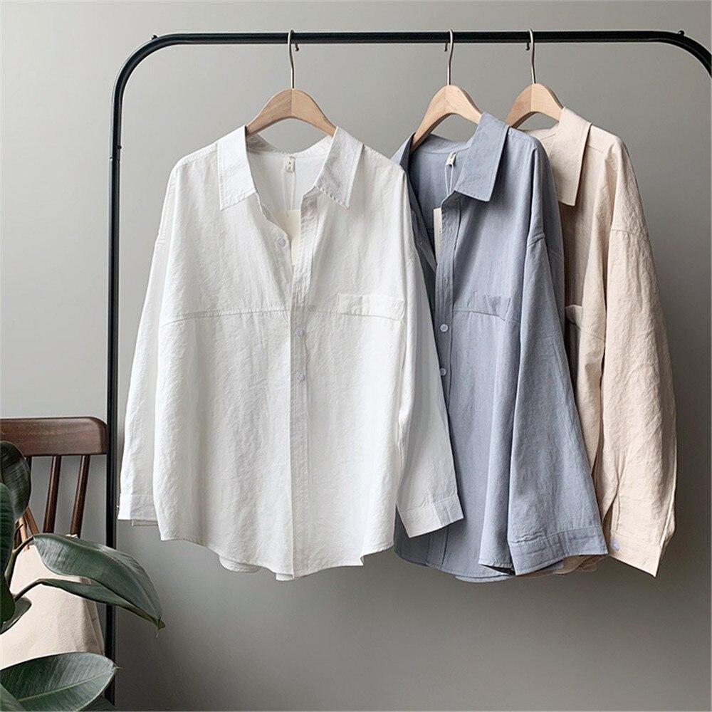 Vintage Women Blouse Shirts 2019 Autumn Korean Long Sleeve Women's Tops Blouses Blusas Roupa Feminina Tops High Quality Y6523 (1)