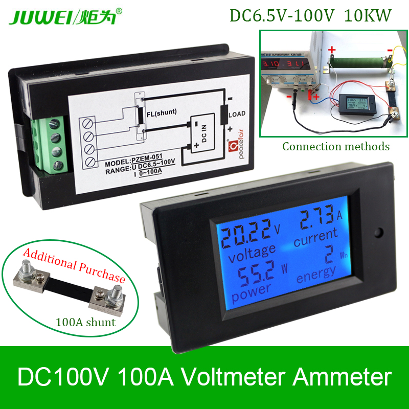 Diverse Power Systems Battery Monitor : Online buy wholesale digital dc voltmeter from china