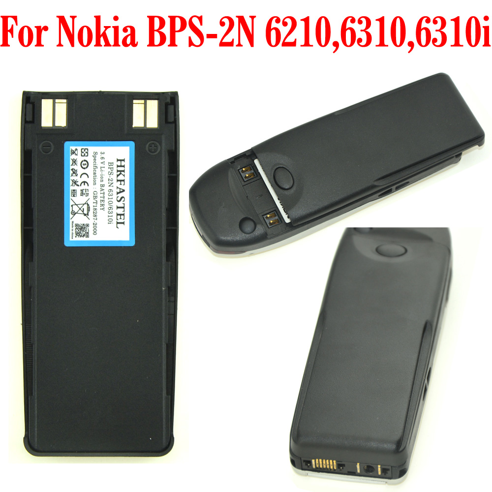 HKFASTEL New BPS-2 Li-ion Battery For <font><b>Nokia</b></font> Mobile Phone 1260i 1261 3285 5185 5180i 6110 6150 6160 6180 6185 6210 6310 <font><b>6310i</b></font> image