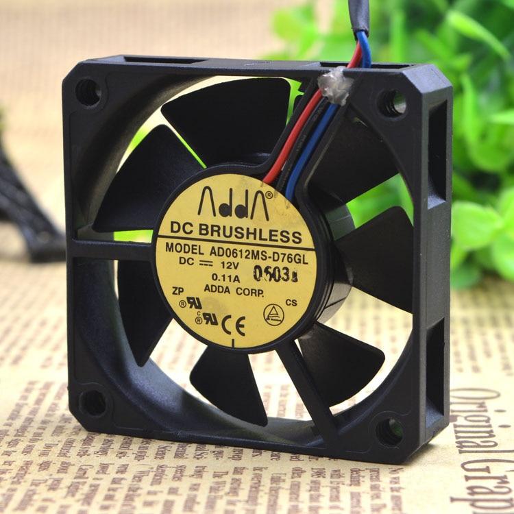 ADDA 6015 12V 0.11A 6CM AD0612MS-D76GL cooling fan